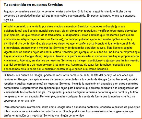 uso-datos-privacidad google
